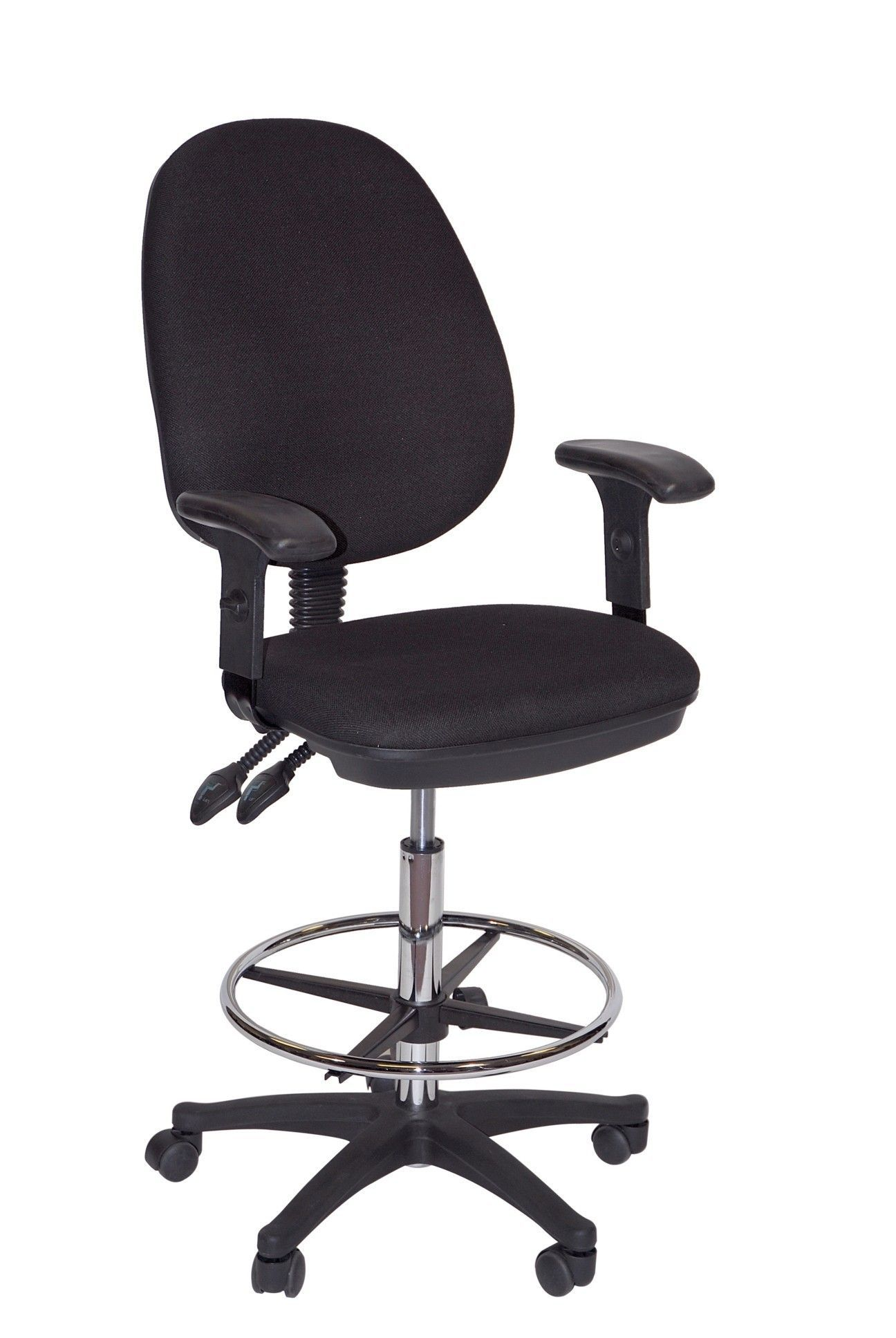 Grandeur Manager\'s High Back Mesh Draft Chair with Foot Ring ...