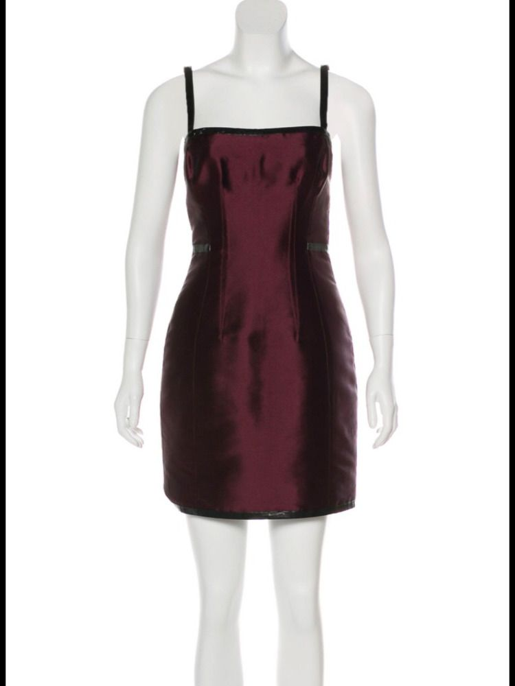 72612f59 Dolce & Gabbana wine silk Dress Size S #fashion #clothing #shoes  #accessories