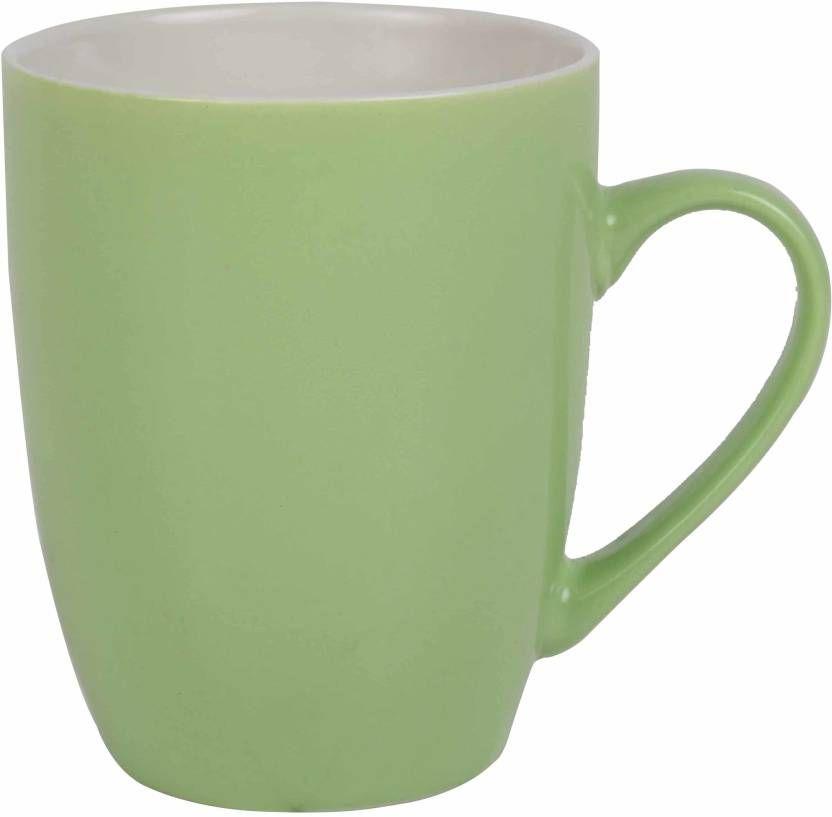 Pin By Phrase Technologies Pvt Ltd On Home Furniture Green Ceramics Ceramic Mug Mugs