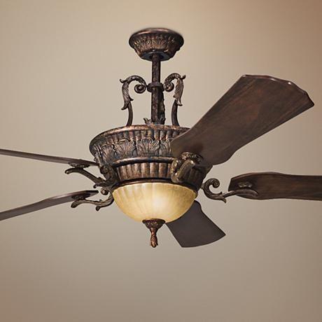 60 Kimberley Berkshire Bronze Ceiling Fan F7978 Lampsplus