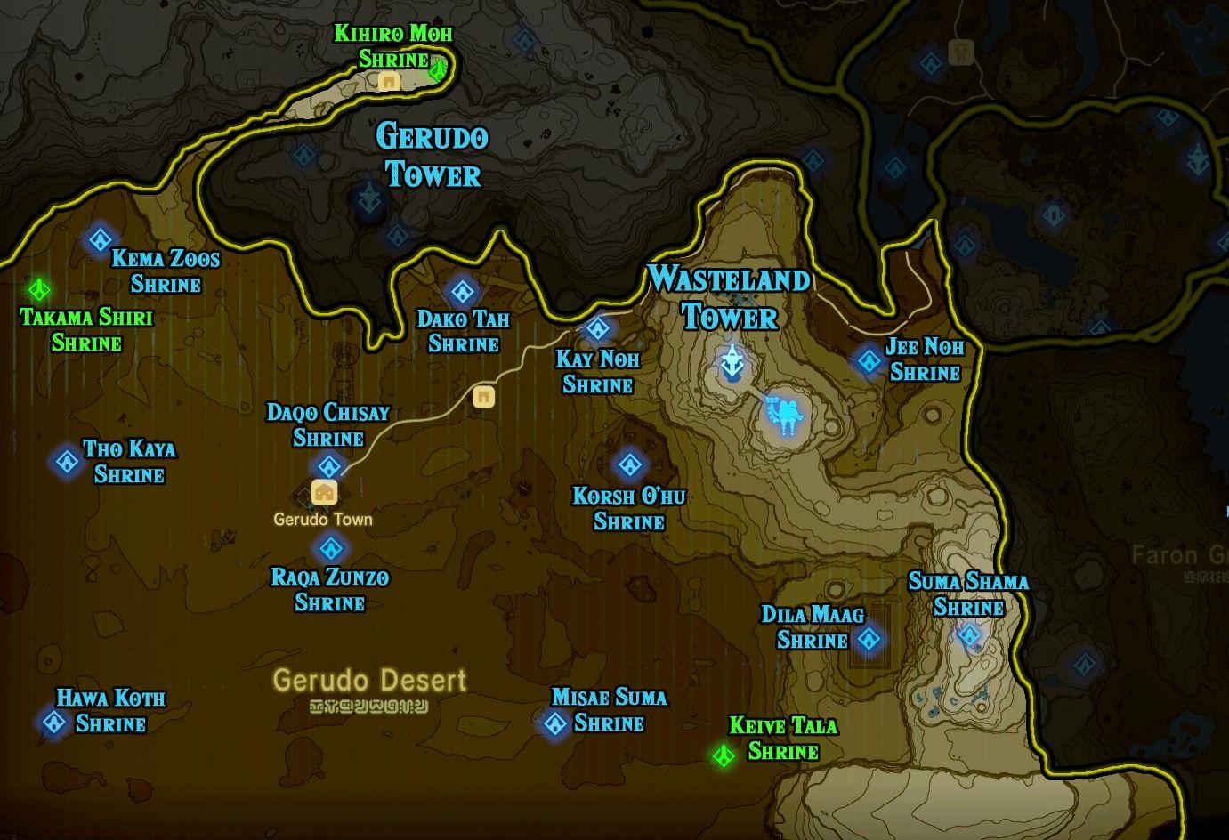 Zelda Breath Of The Wild Shrine Maps And Locations Polygon Breath Of The Wild Legend Of Zelda Zelda Breath Of Wild