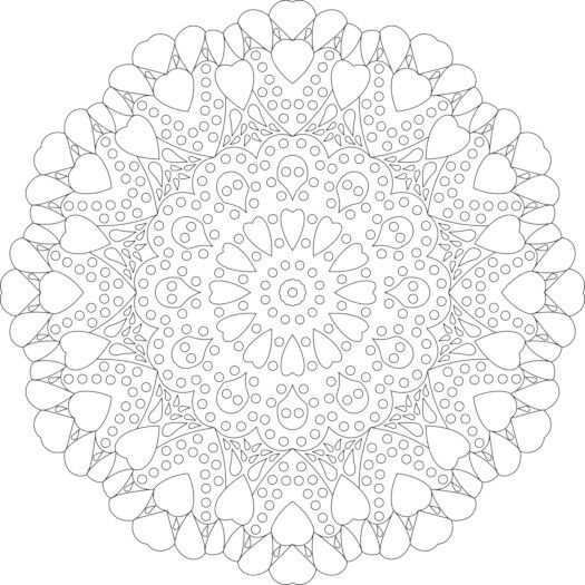 Colouring...Mandala | coloriage | Pinterest | Coloriage