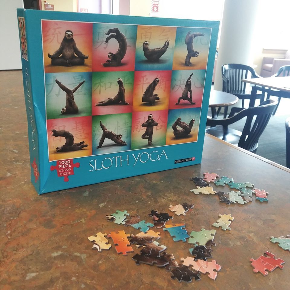 Oooh this looks like fun at the south end of the 1st floor Have a good time w your friends trying to piece this puzzle together