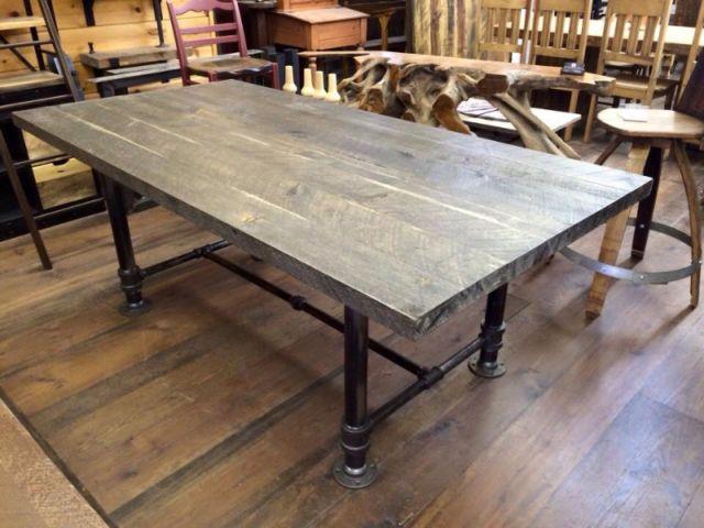 Tables et meubles style industriel articles cuisine et salle à dîner lanaudière kijiji