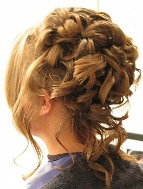 Staying In Fashion With Popular Prom Hairstyles 2014 Hair Styles 2014 Hair Styles Curly Hair Updo