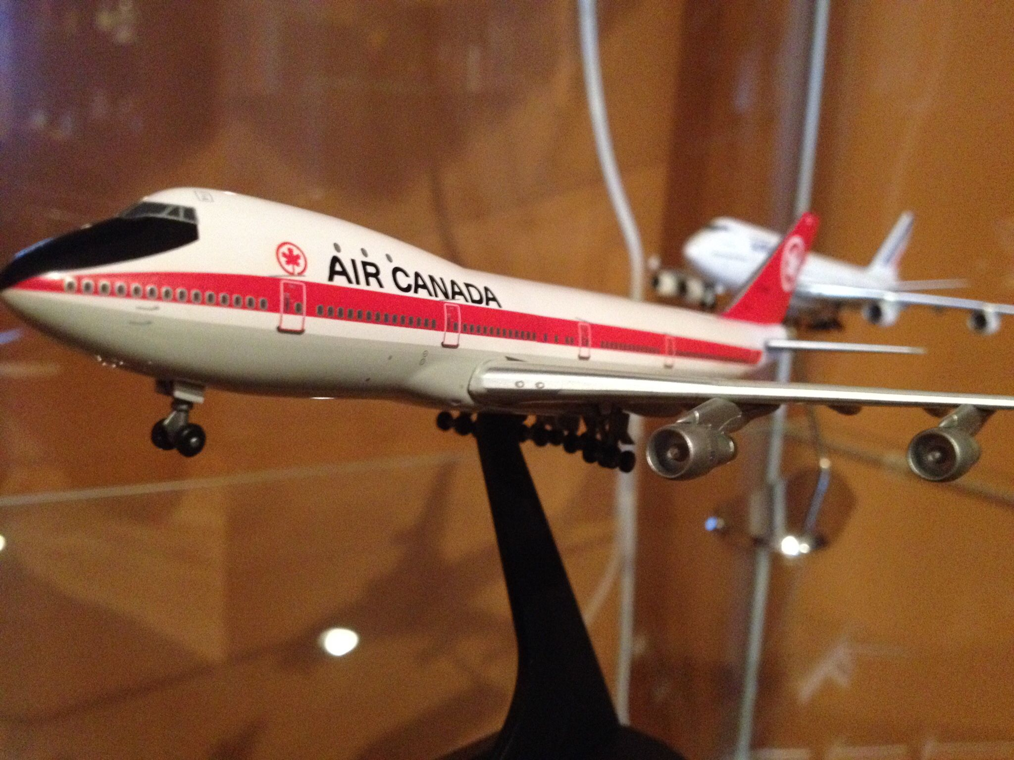 Air Canada 747133 302 delivery paint scheme 1971 Dragon