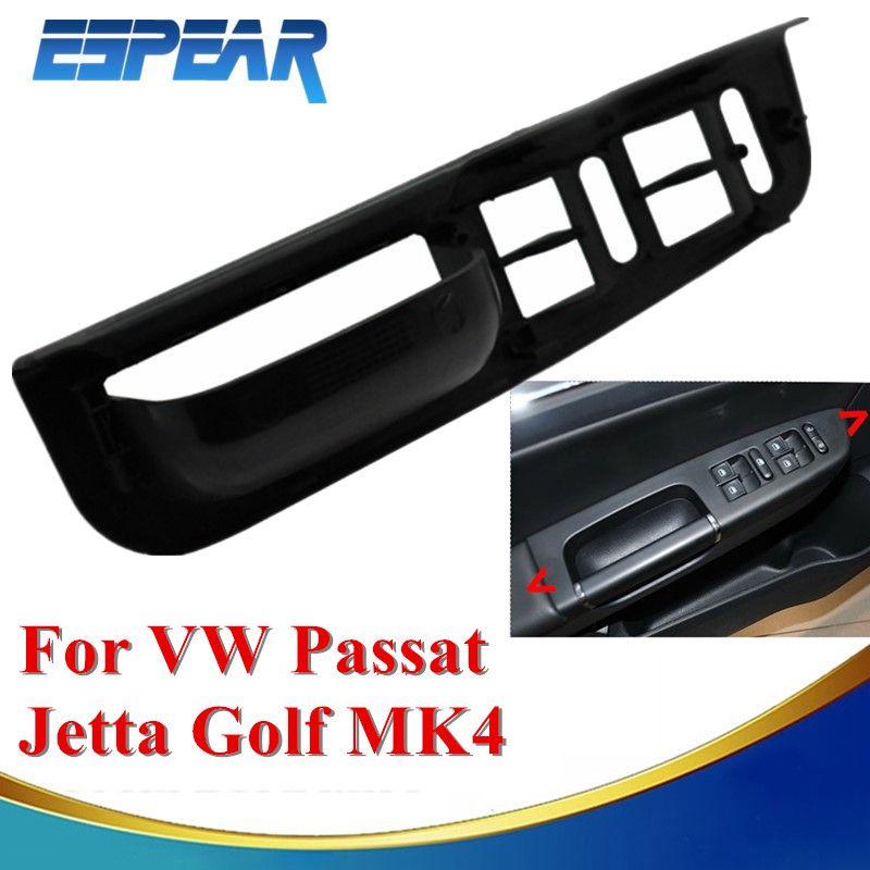 Car Door Side Armrest Window Control Switch Panel Trim For Vw Passat Jetta Golf 4 Mk4 1998 1999 2000 2001 2002 2003 2004 Vw Passat Volkswagen Passat Volkswagen