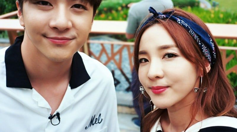Sandara Park Posts Cute Failed Selfies With Her Brother Thunder Soompi South Korean Idol Park Her Brother