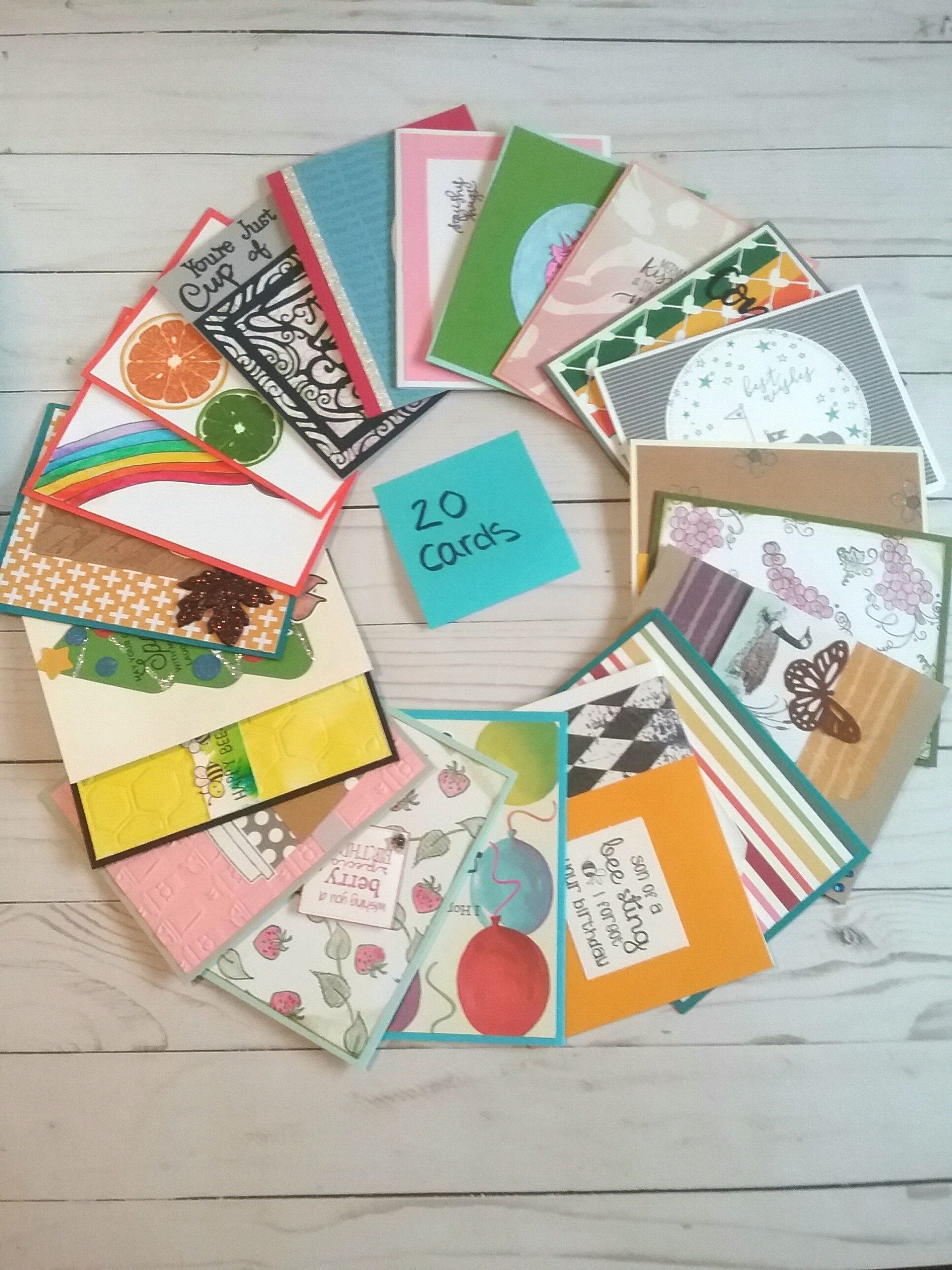 blank greeting cards pack