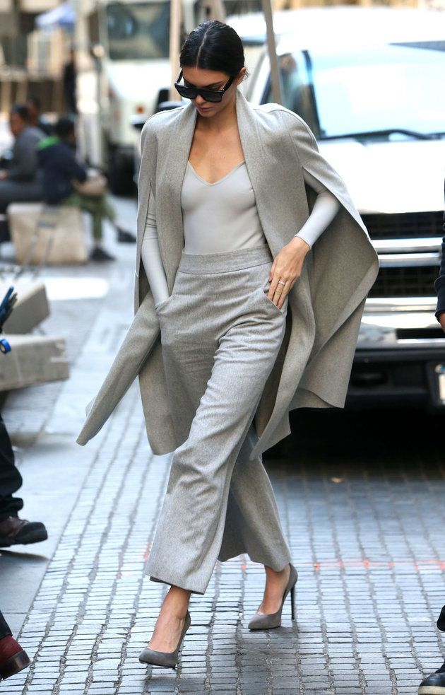 'Groutfits' Are The All-Gray Outfits Everyone's Wearing This Winter