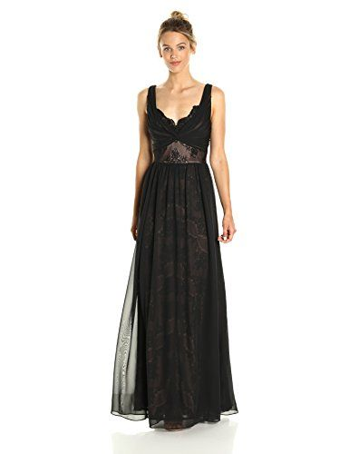 9e937ec95a Chic Vera Wang Women s Sleevless Lace Gown with Overlay womens fashion  clothing.   120.60 - 368.60  yourfavoriteclothing from top store