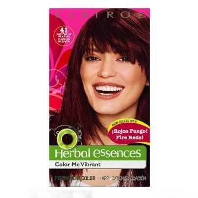 New Clairol Red Hair Color