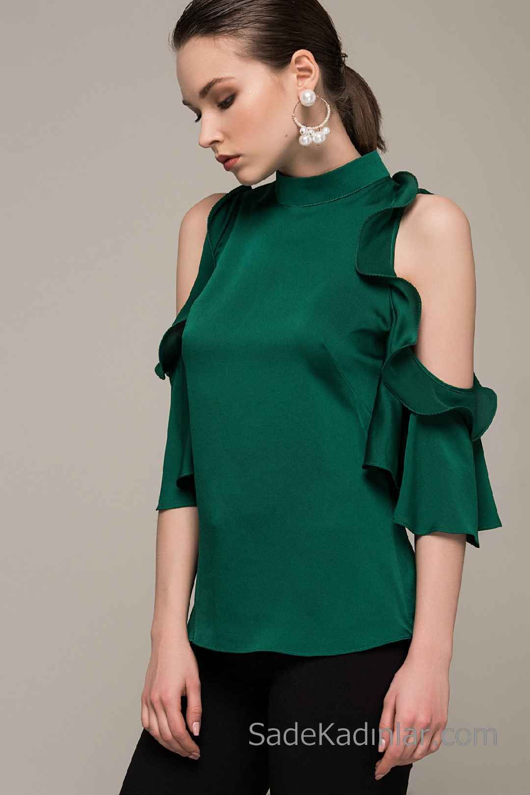 2021 in en gosterisli sifon bluz modelleri kiyafet kombinleri sifon bluzlar bluz bluz modelleri