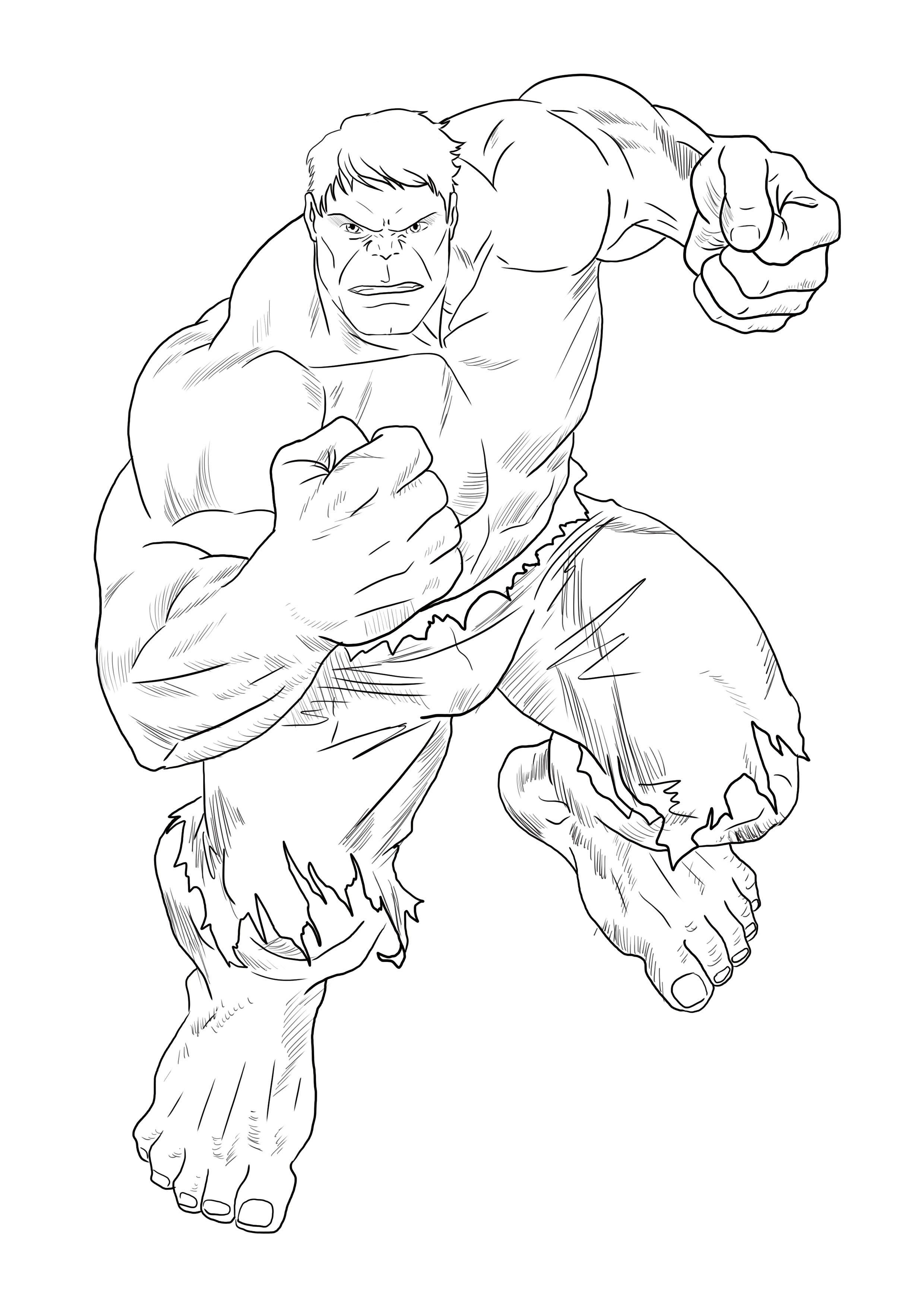 Realiser Un Dessin De Hulk En 2020 Dessin Hulk Dessin Dessin Super Hero