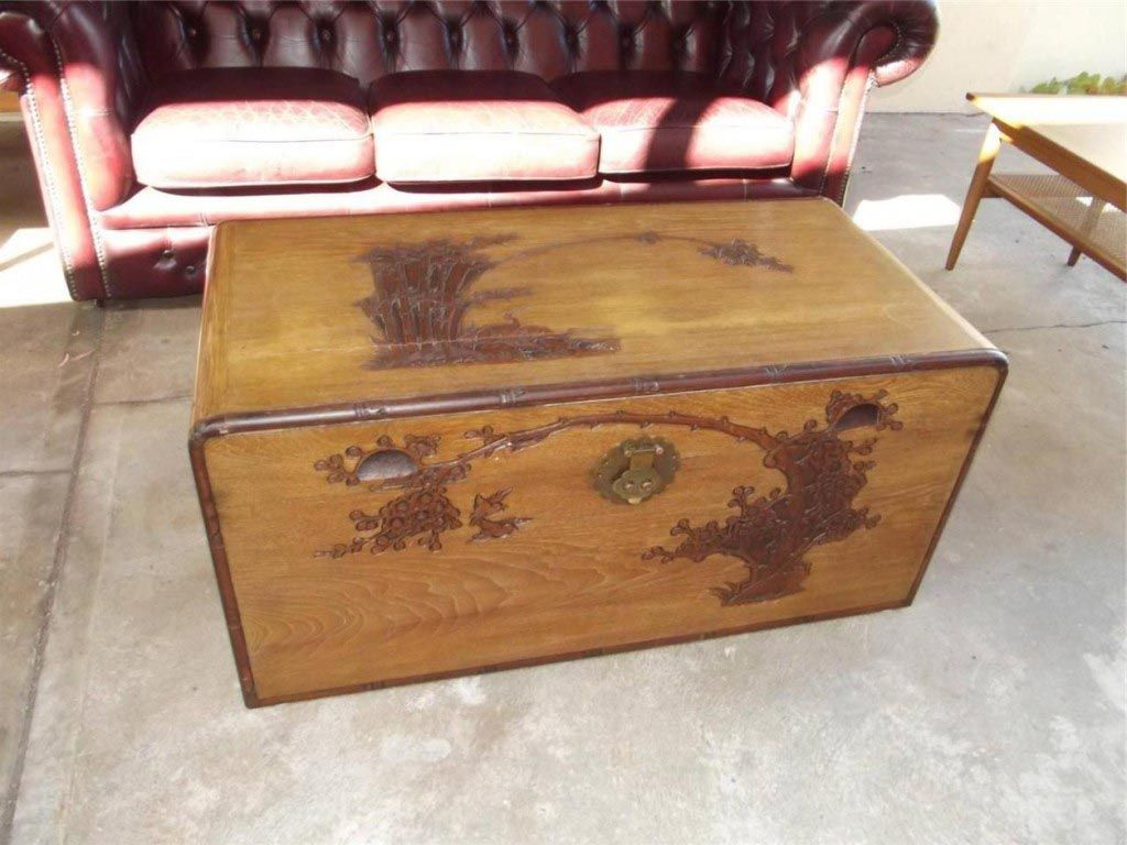 Vintage Chest Coffee Table Coffee Tables Pinterest