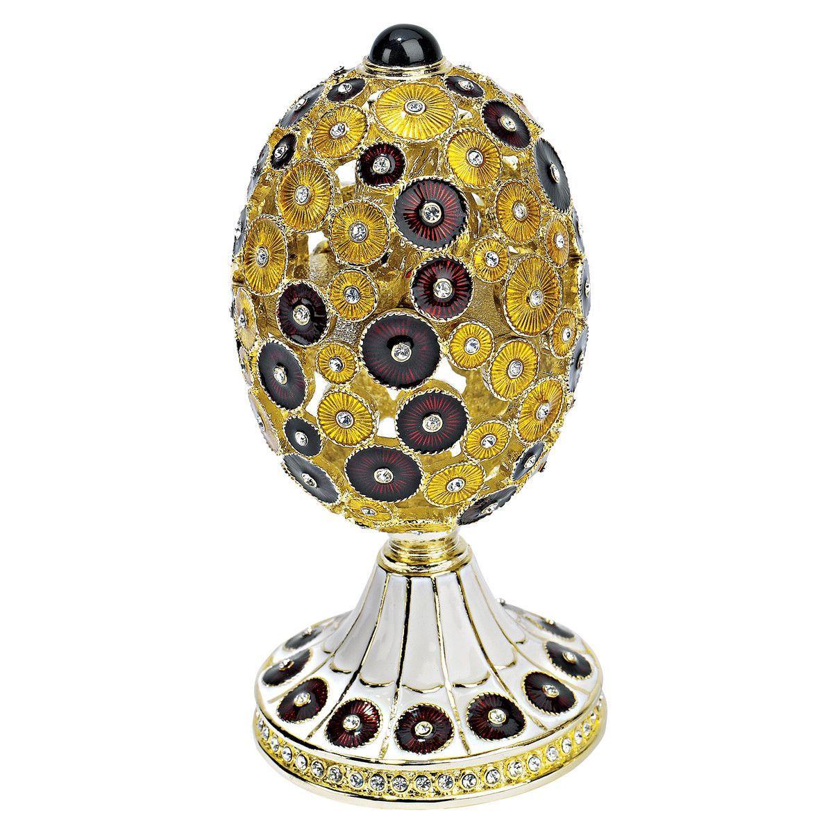The Lepridae Faberge - Style Enameled Egg