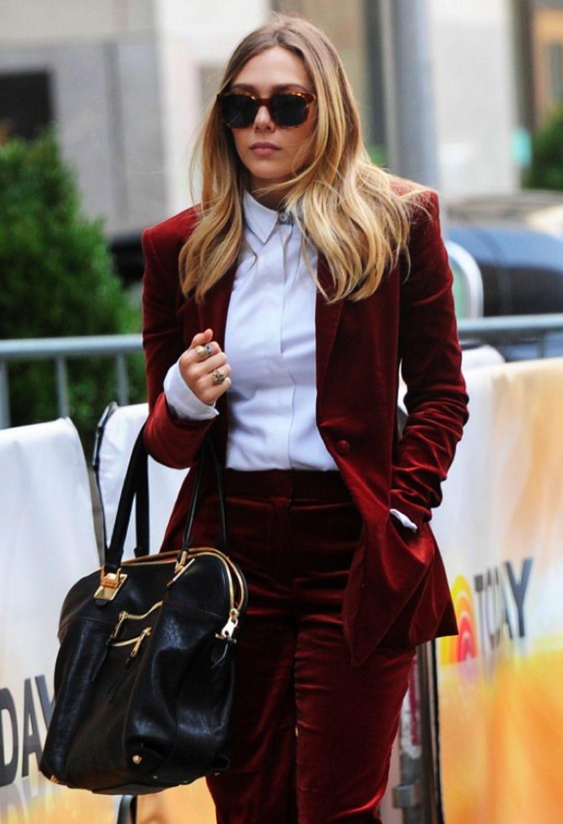 Velvet Pant Suit For Ladies