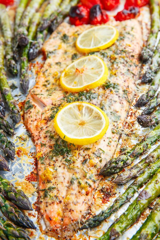 Lemon Pepper Parmesan Roast Trout -   24 fish recipes trout