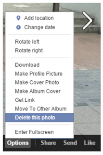 How to delete photos from facebook facebook guides pinterest how to delete photos from facebook ccuart Image collections