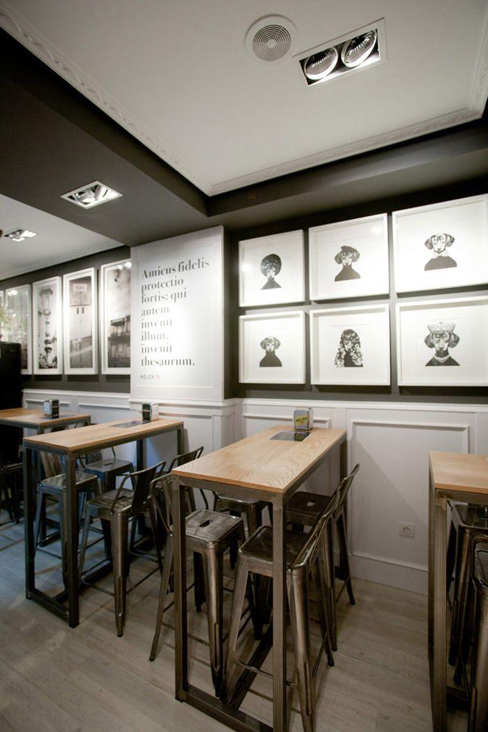 Mobiliario dise o franc s en proyecto de decoraci n del for Mobiliario para cafes