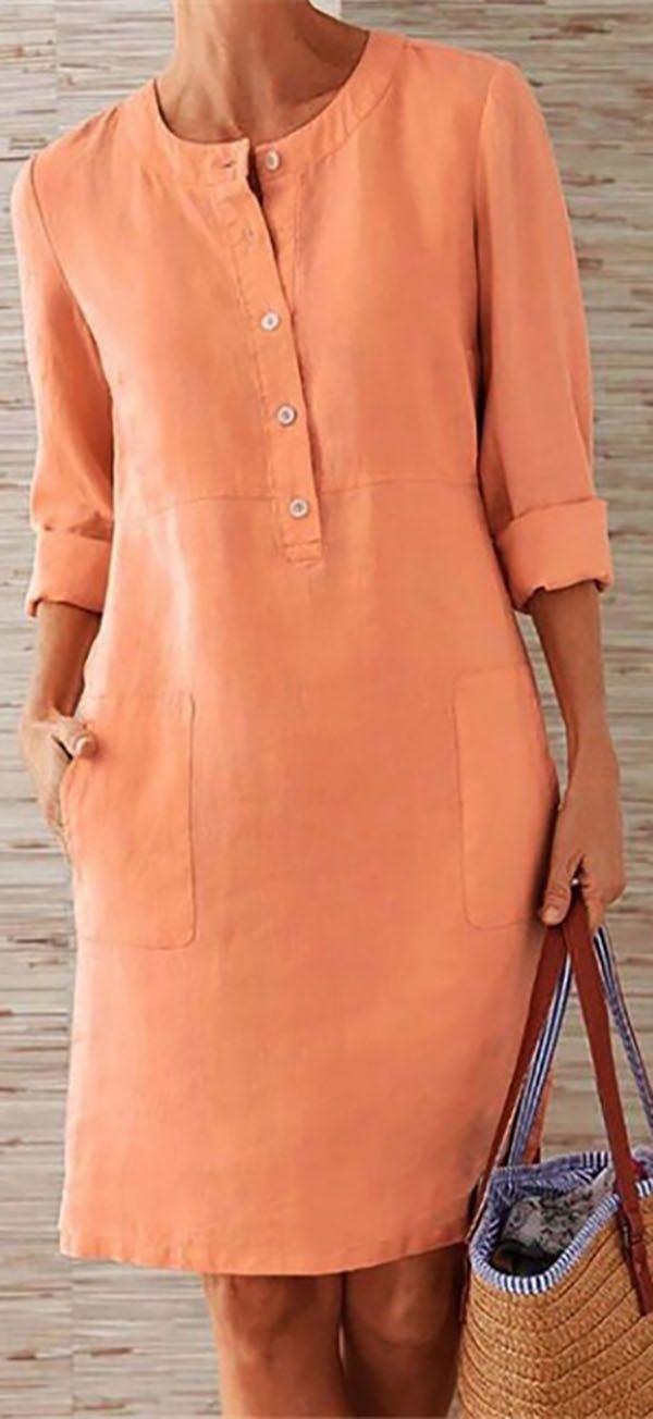 Hot Sale!Bohemian Plus Size Elegant Women Fashion Mini Dresses #vacationlooks Ho…