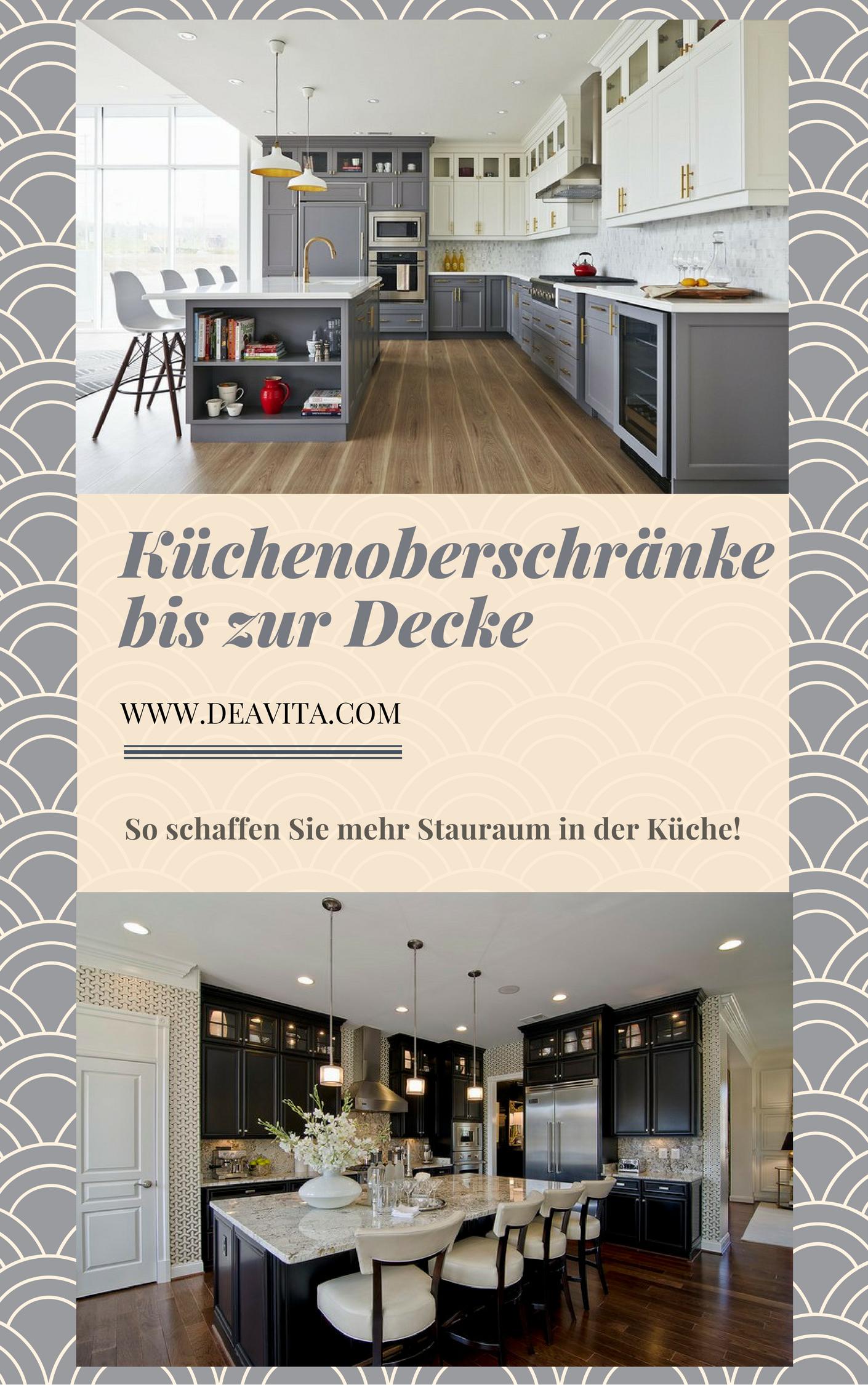 Kchen Oberschrnke. Gallery Of Luxus Hhe Hhe Oberschrnke Kche Bilder ...