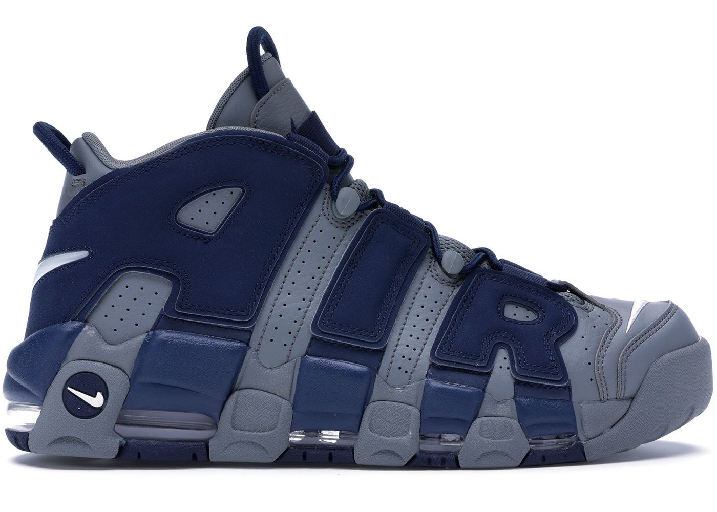 bf68f1a6 Check out the Air More Uptempo Cool Grey Midnight Navy available on StockX