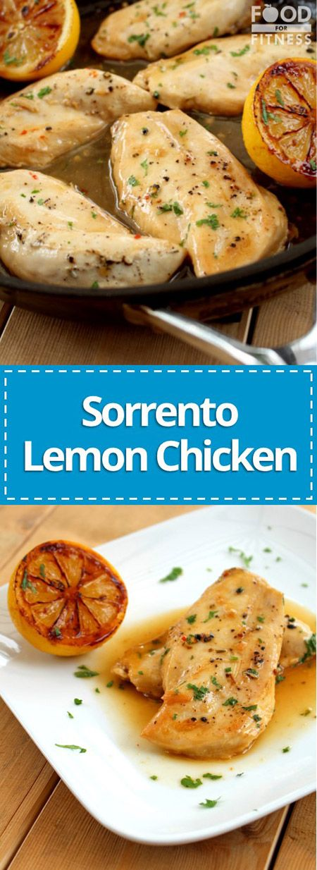 sorrento lemon chicken juicy chicken breasts in a silky sweet lemon glaze foodforfitness