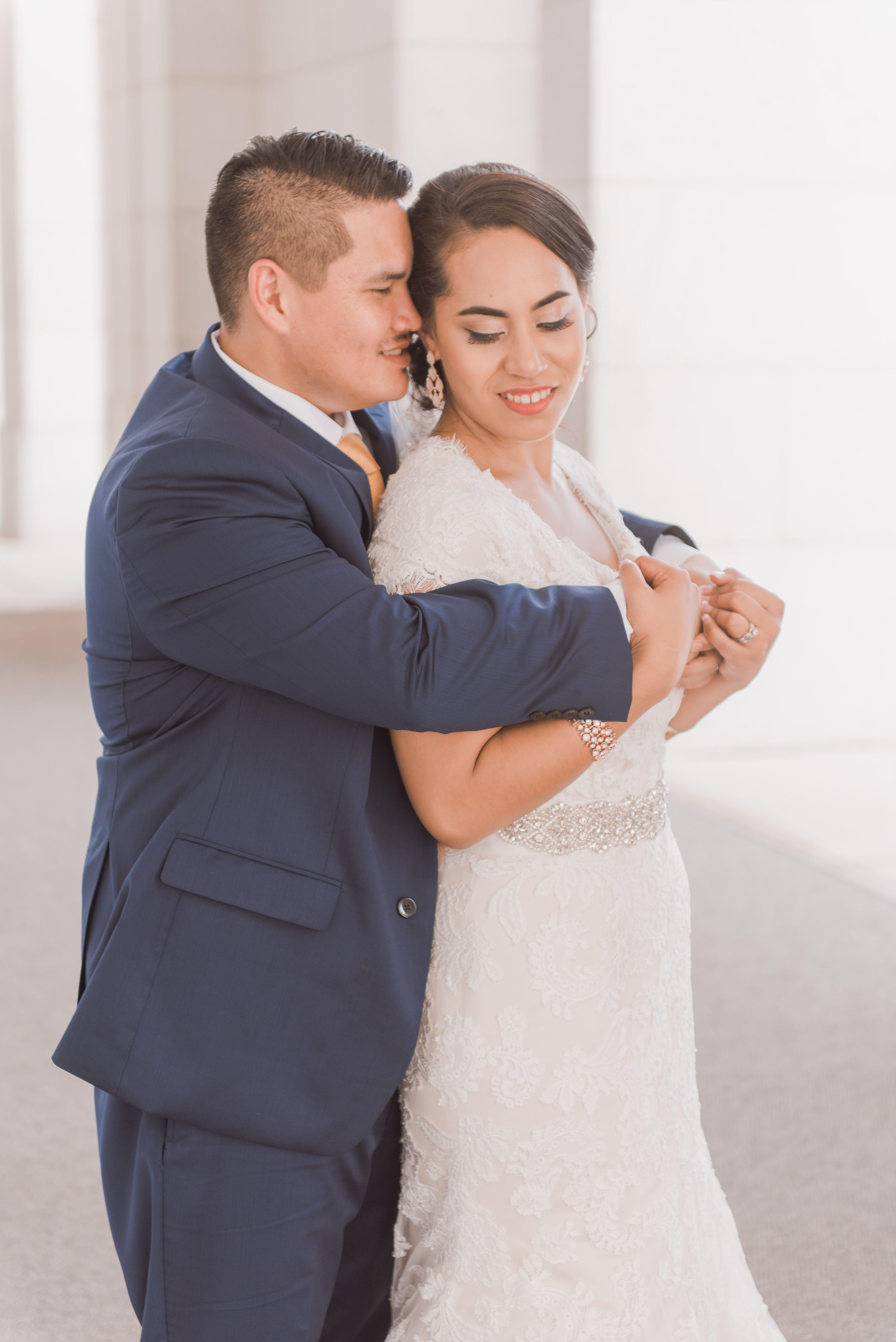 Modest Wedding Dress   Modest Wedding Gown   Grayson Gown ...