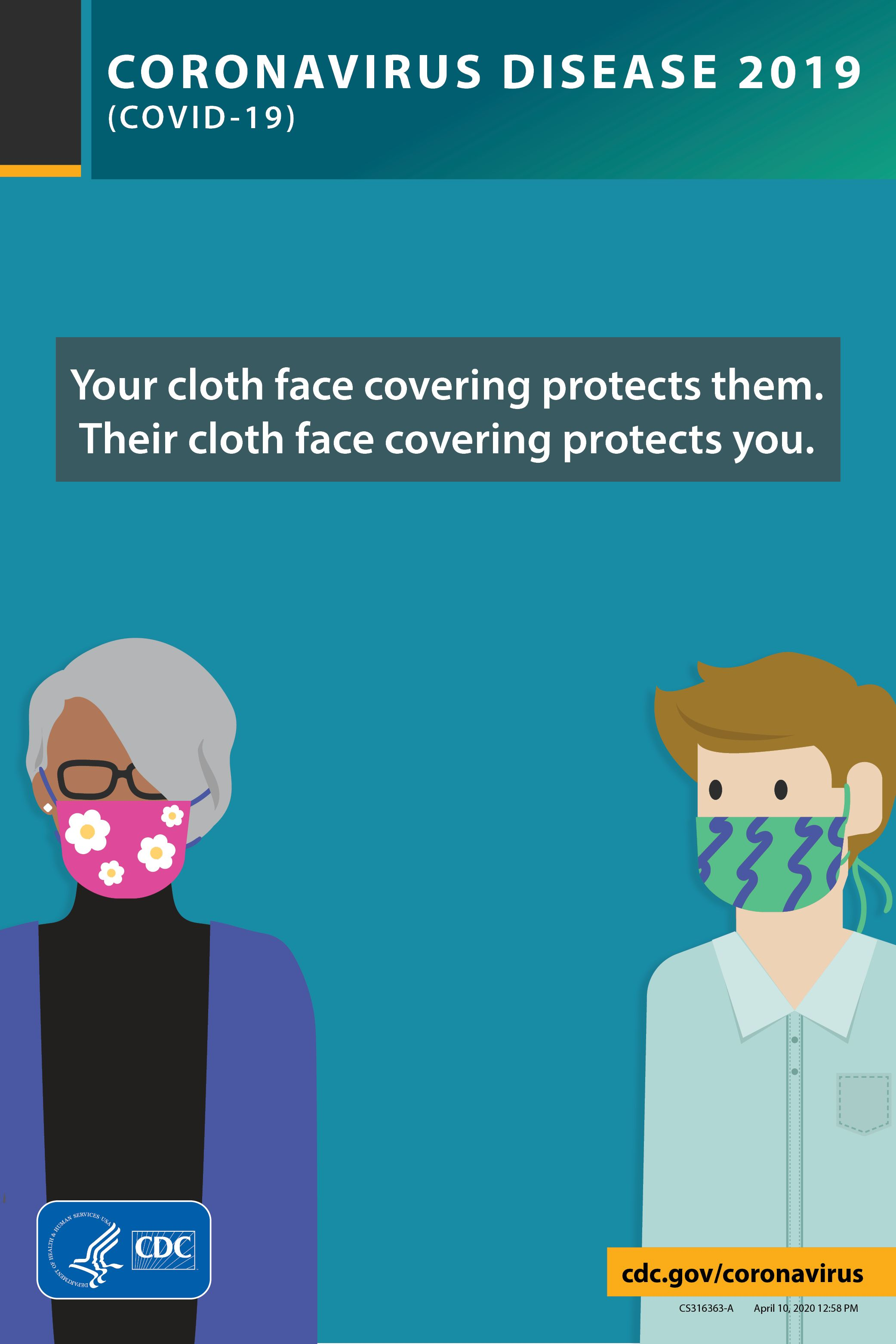 The Virus That Causes Covid 19 Can Spread From A Person Before They Have Symptoms Take Action To Slow The Spread By Wearing A Cloth Face Covering In Public Spa