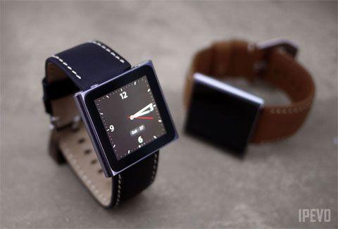 Chrono iPod Nano Strap: Watch It