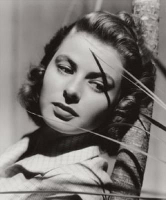 ingrid bergman-the most beautiful woman to ever grace the silver screen. (My opinion of course) :)