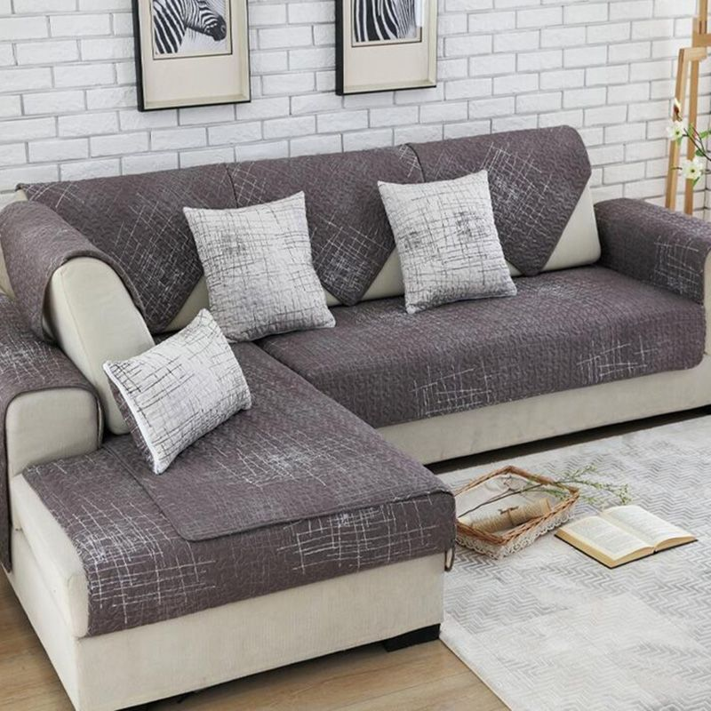 100 Cotton Sofa Cover Set Sectional Slip Cover Sofas Modern Magical Sofa Cover Corner Towel Fabric Double Towel Sof Corner Sofa Covers Sofa Covers Couch Covers