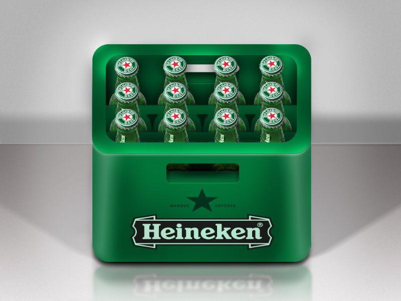 Heineken Icon App icon, Ios icon, App icon design