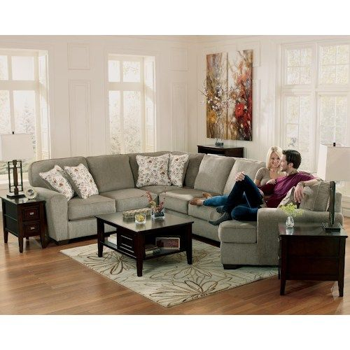 Patola Park Patina 4 Piece Small Sectional with Right Cuddler by
