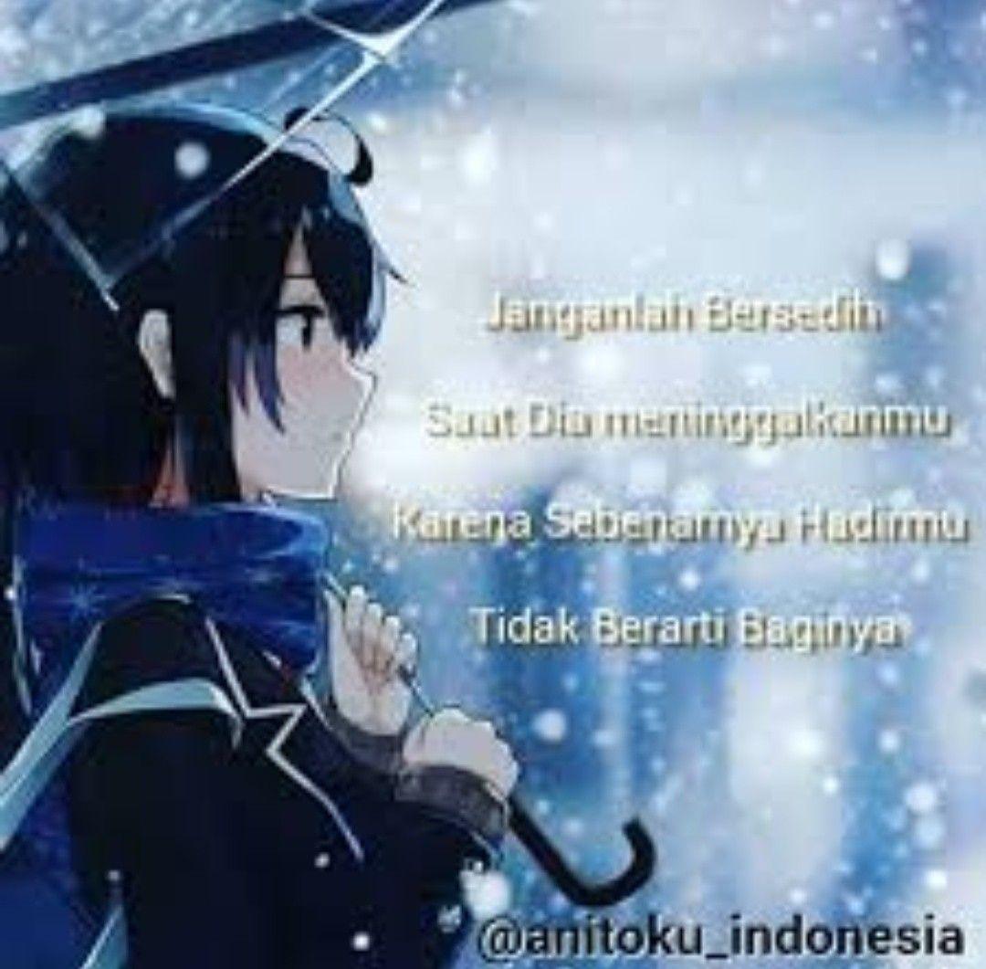 Pin Oleh Su Harti Di Kata Kata Animers Orang Sedih Gambar Anime