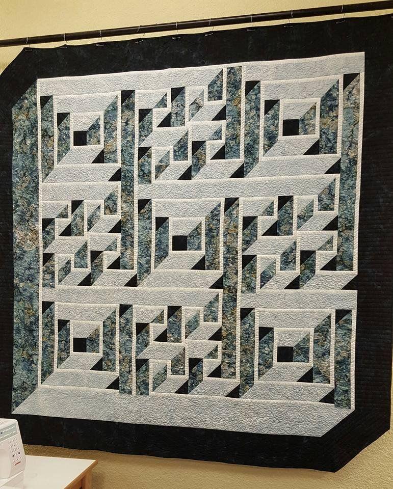 Labyrinth Walk - 714329645650 | Quilt | Pinterest | Patchwork ... : labyrinth quilt pattern free - Adamdwight.com