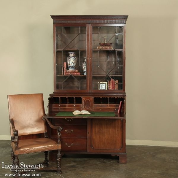 Affordable Vintage Furniture: 19th Century English Secretary