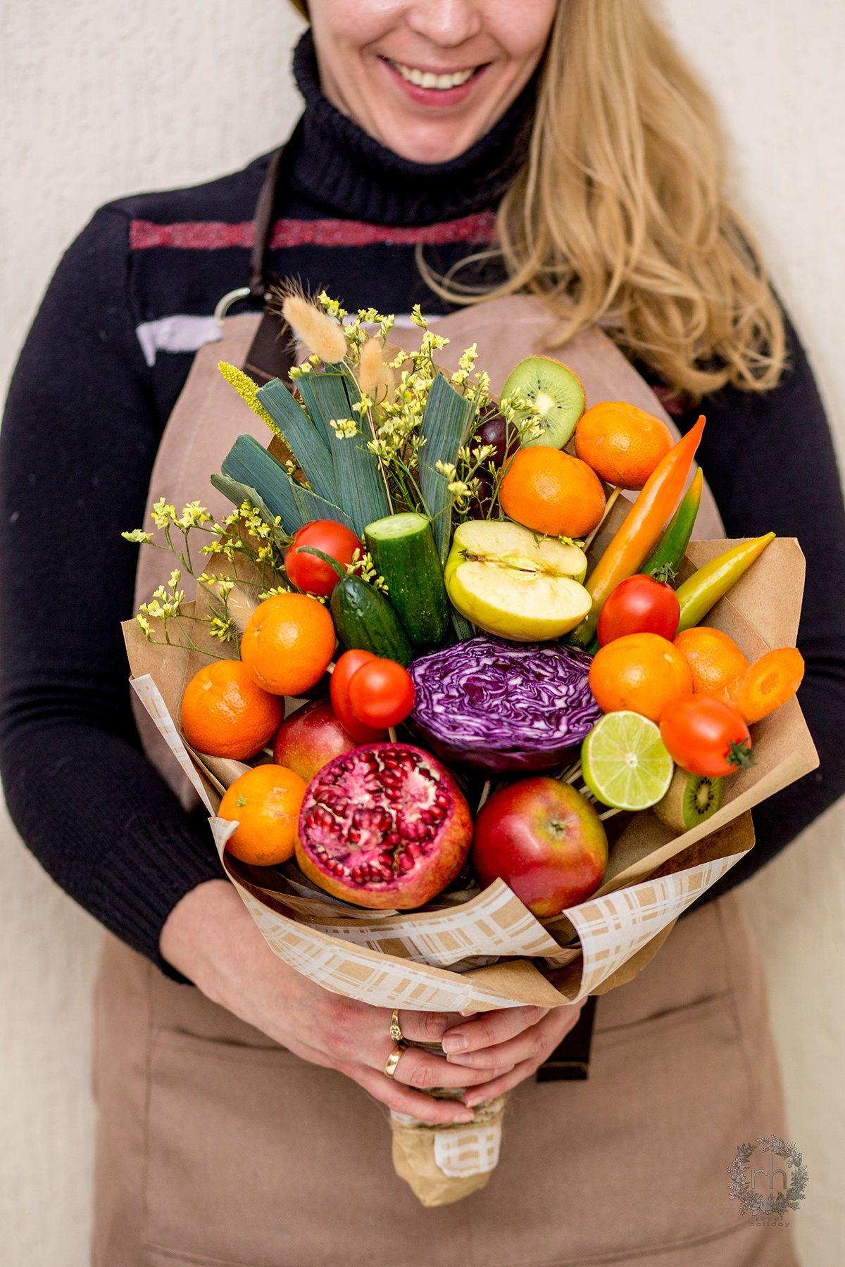 Поздравление фруктовым букетом фото 289
