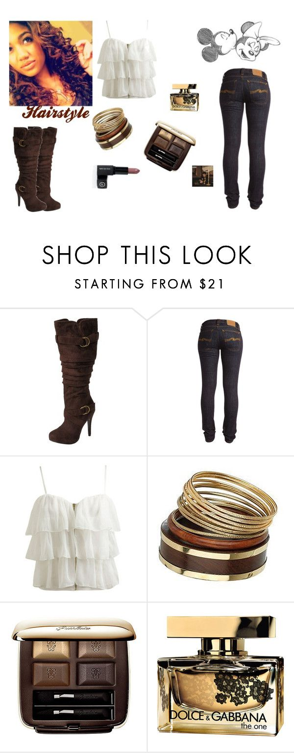 """The Real Her"" by relativelydope ❤ liked on Polyvore featuring Journee Collection, Nudie Jeans Co., Wet Seal, Paige Denim, Miss Selfridge, Guerlain, Dolce&Gabbana, Mineral, skinny jeans and fringe shirts"