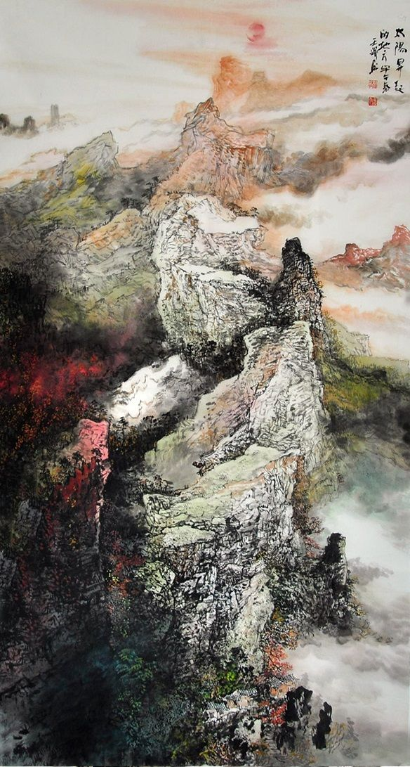 ea17fa2fb Nature art painting for sale Modern famous artists Traditional Original Landscape  Painting - US $956.00