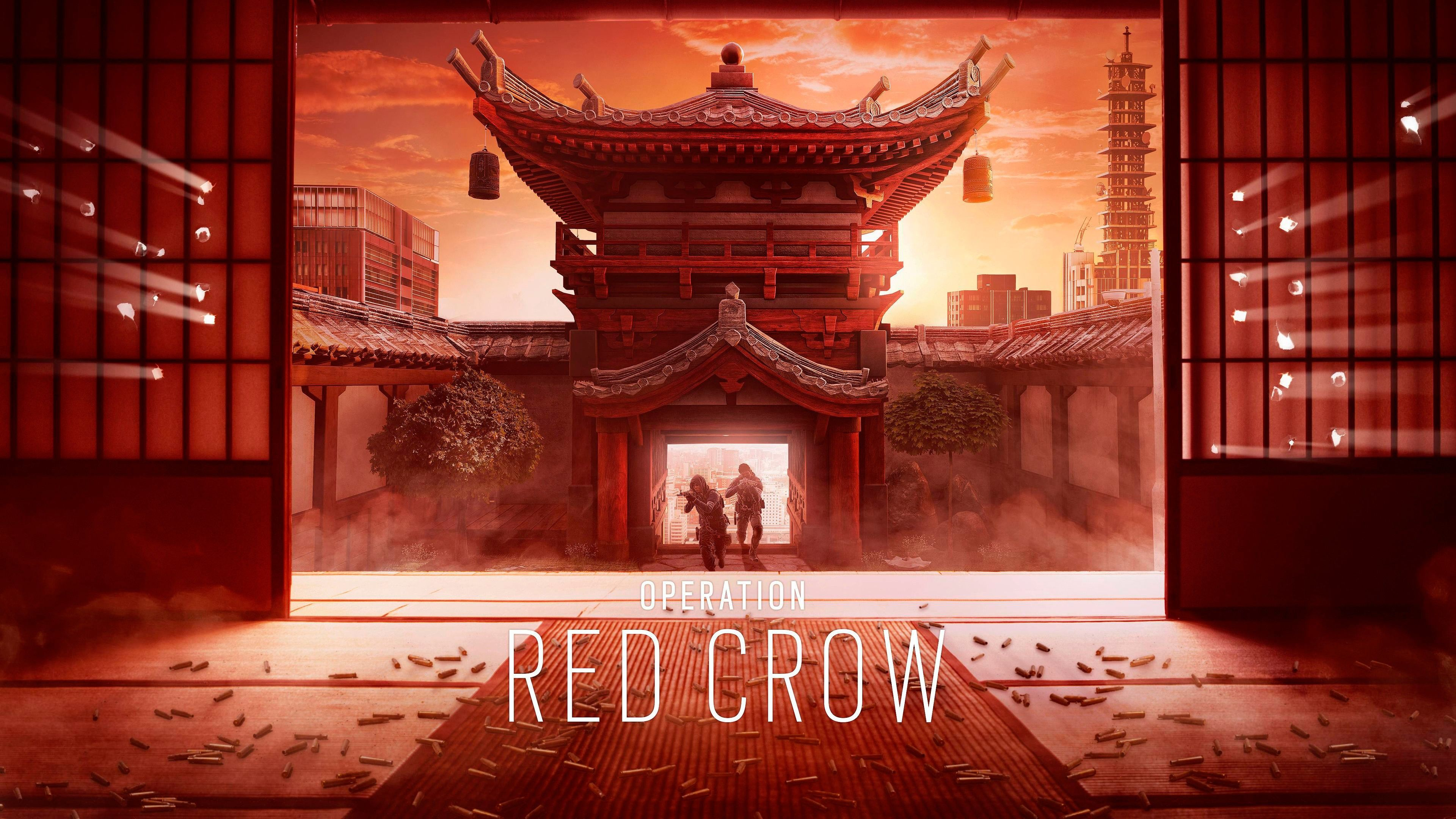 Operation red crow wallpaper 4k computer red crow tom - Operation rainbow download ...