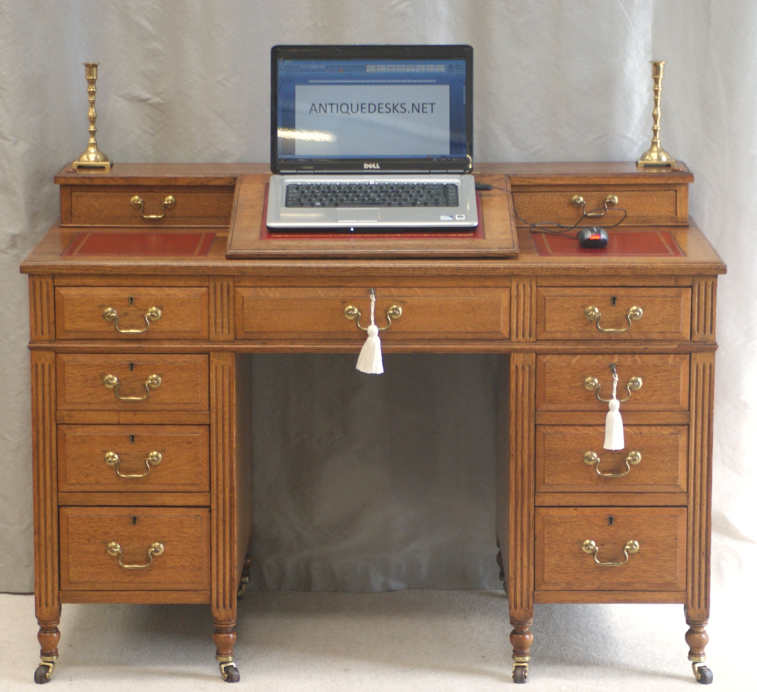 victorian desk Antique Victorian Oak Dickens Desk Ref