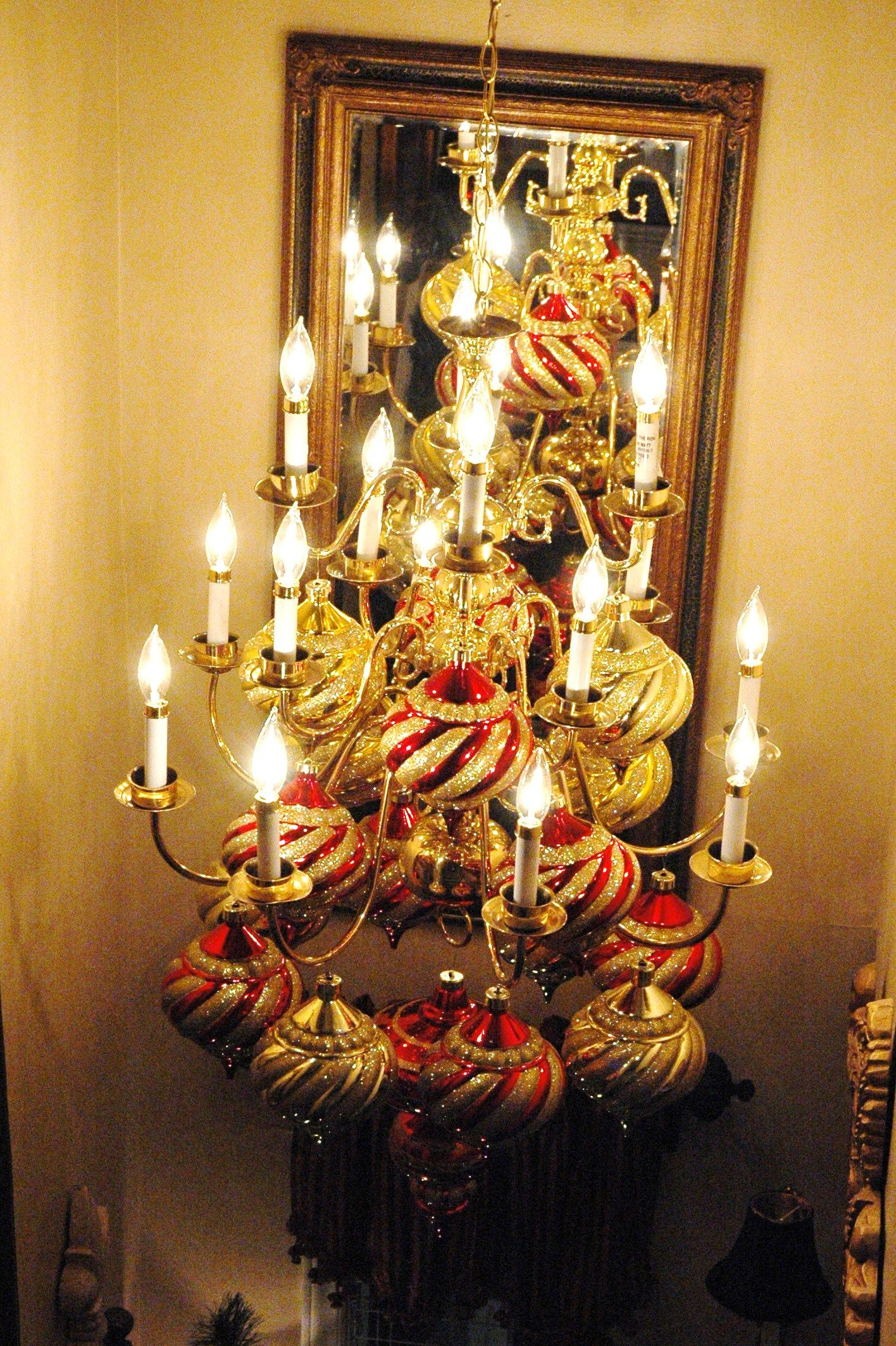 Permalink to Fresh Christmas Chandelier Decorations Pinterest