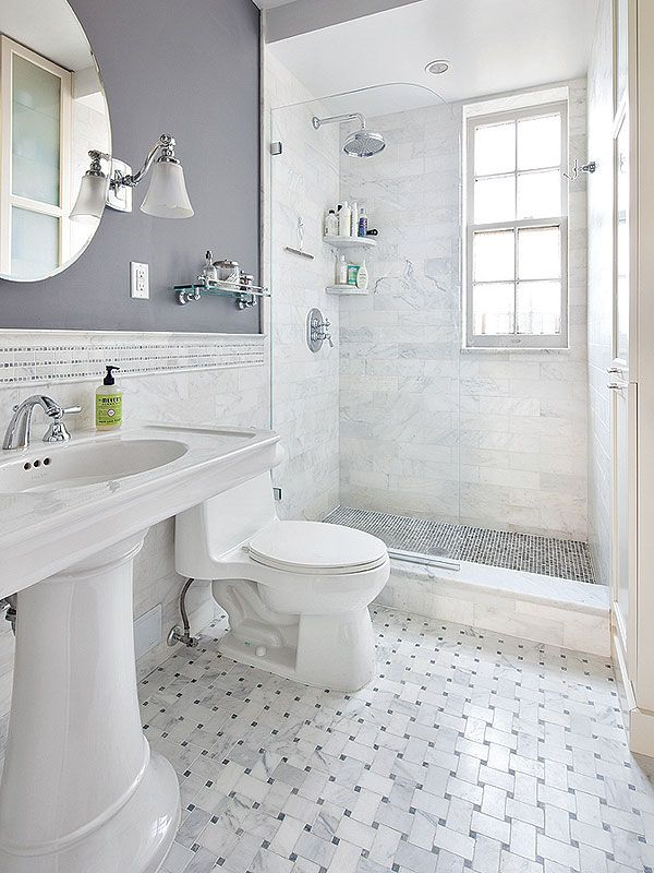 Blue And White Bathroom Bathroom Victorian With Black White ... | Bathroom  Renovation | Pinterest | White Bathrooms, Victorian And Black