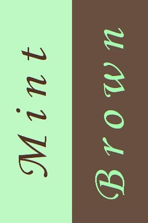 Pin By Color Wheel On Mint Black Brown And Gray Mixes