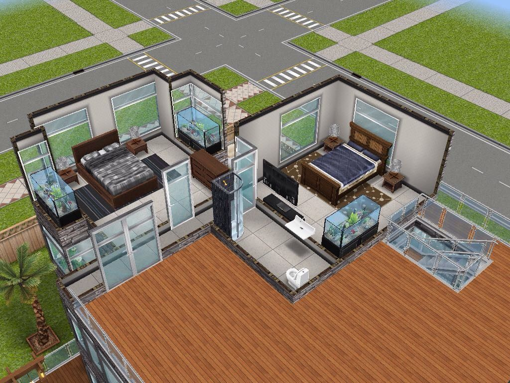 house 56 level 3 sims simsfreeplay simshousedesign house plan