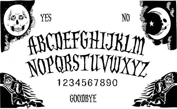 Exceptional image inside printable ouija board template