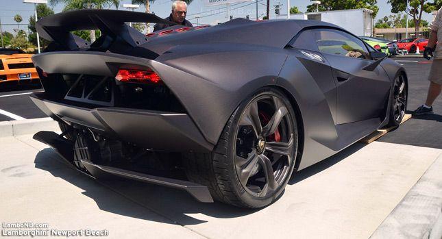 Lamborghini of Newport Beach Brings Sesto Elemento for Grand Opening [w/Video] #lamborghinisestoelemento