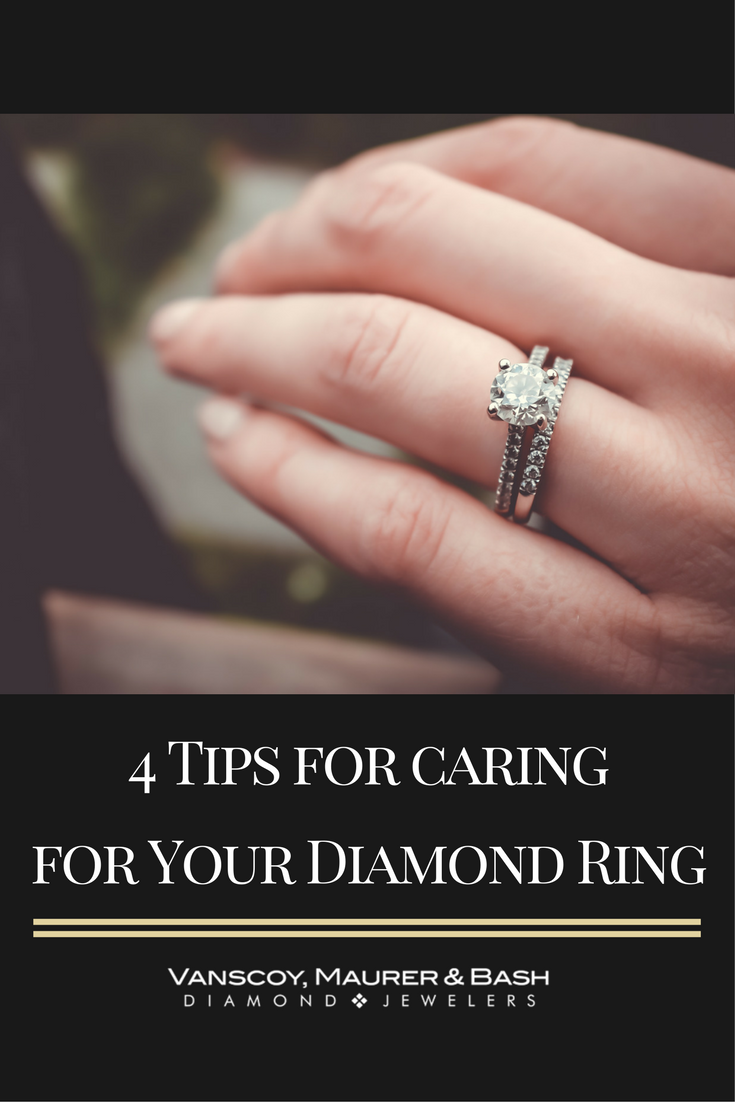 Your diamond ring is perhaps the most important piece of jewelry you ...